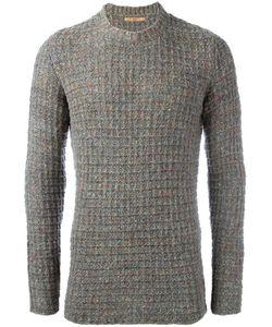 Nuur | Crew Neck Jumper Mens Size 48 Silk/Nylon/Wool