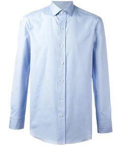 Salvatore Piccolo | Sport Shirt Mens Size 41 Cotton