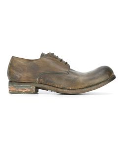 A Diciannoveventitre | Worn Out Effect Derbies Mens Size 44 Horse