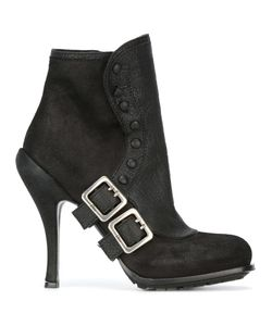 Christian Dior Vintage | Buckled Booties Womens Size 38.5 12680411760975