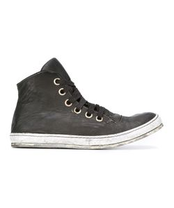 A Diciannoveventitre | Lace-Up Hi-Tops Mens Size 43 Leather/Rubber