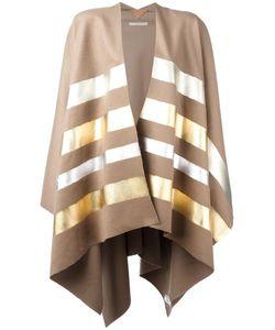 Ermanno Gallamini | Striped Cape Womens Cashmere/Virgin Wool