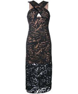 GINGER & SMART | Orbital Cross Neck Dress Womens Size 12