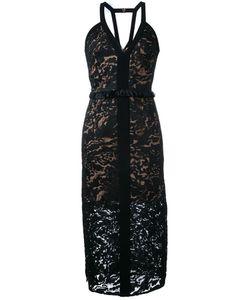 GINGER & SMART | Orbital V-Neck Dress Womens Size 10 Nylon/Polyester