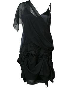 Loyd/Ford | Single Sheer Shoulder Dress Womens Size 6 Silk