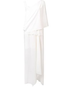 Loyd/Ford | Single Shoulder Asymmetric Dress Womens Size 4 Silk