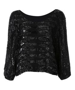 Loyd/Ford | Embellished Sequined Blouse Womens Size 4 Rayon