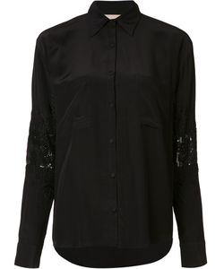Loyd/Ford | Embellished Elbows Shirt Womens Size 6 Silk