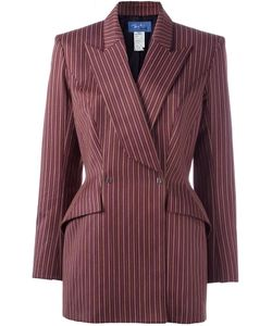 Thierry Mugler Vintage | Double Breasted Blazer Womens Size 42