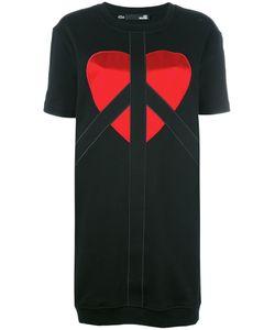Love Moschino   T-Shirt Logo Dress Womens Size 44 Cotton/Polyester