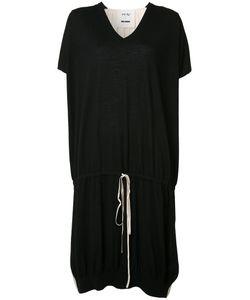 Uma Wang | Drawstring T-Shirt Dress Womens Size Medium Silk/Cashmere