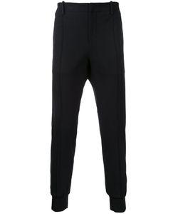 Wooyoungmi | Rib Detail Track Pants Mens Size 46 Acrylic/Nylon/Rayon/Spandex/Elastane
