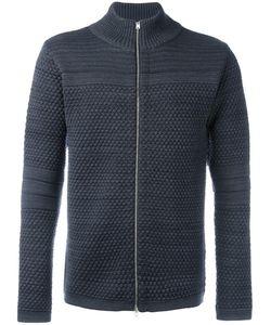 S.N.S. Herning | Torso Zipped Knit Cardigan Mens Size Medium Merino/Virgin