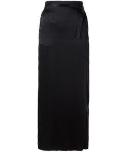 Ann Demeulemeester Blanche   Straight Skirt Womens Size 34 Silk/Cotton/Rayon