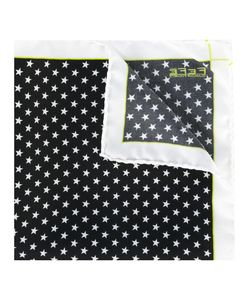 Fefè   Star Print Pocket Square Adult Unisex Silk