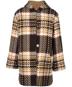 Cmmn Swdn | Reversible Duffle Coat Mens Size 44 Virgin Wool/Acrylic/Cotton/Cashmere
