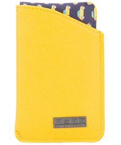 Fefè   Cars Print Cardholder Adult Unisex Leather