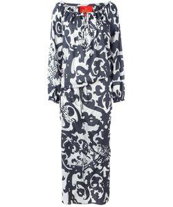 Vivienne Westwood Red Label   Arabesque Print Maxi Dress Womens Size 40