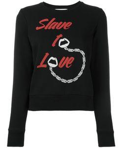 Yazbukey | Slave To Love Sweatshirt Womens Size Large Cotton/Polyester