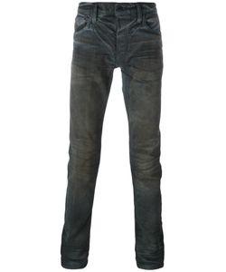 Mastercraft Union   Coated Slim Jeans Mens Size 36 Cotton/Polyurethane