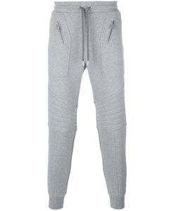 Les Hommes | Ribbed Multi-Zip Track Pants Mens Size Large Cotton