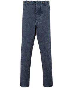 Ermanno Gallamini | Straight Jeans Mens Size Small Linen/Flax