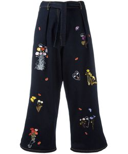 Vivetta | Guanaco Cropped Trousers Womens Size 42 Cotton/Spandex/Elastane