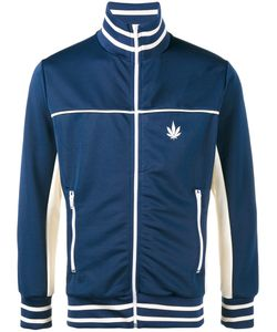 Palm Angels | Weed Stripe Track Jacket Mens Size Xl Polyester