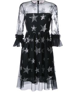 Huishan Zhang | Star Sequined Dress Womens Size 12 Polyester