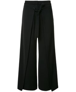 Yigal Azrouel | Wide Leg Cropped Trousers Size 2 Polyester