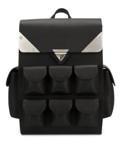 Valas | Mini Voyager Backpack Leather/Suede