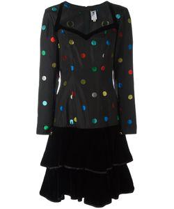 Emanuel Ungaro Vintage | Polka Dot Patterned Dress Womens Size 42