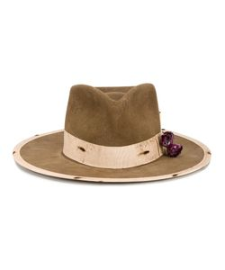 Nick Fouquet | Devil Rose Hat Mens Size 60 Beaver