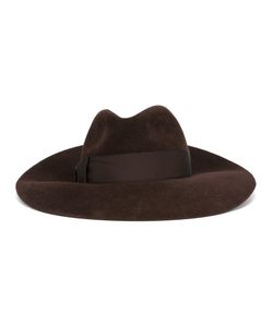 Borsalino | Wide Brim Hat Mens Size Small Rabbit Fur Felt