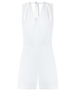 Andrea Marques | V-Neck Playsuit Womens Size 38 Viscose/Acetate