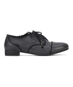 Y's   Garment Dye Lace-Up Shoes Womens Size 38 Leather/Calf Leather