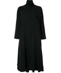 Y's   Midi Shirt Dress Womens Size 1 Wool
