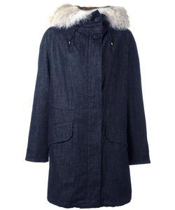 Army Yves Salomon | Fur Hood Parka Womens Size 34 Rabbit