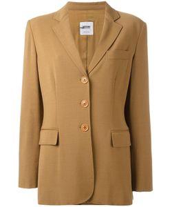 Moschino Vintage | Button Front Blazer Jacket Womens Size 48