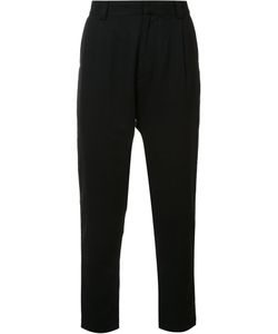 Robert Geller | The Robert Tapered Trousers Mens Size 52 Wool/Polyester/Other