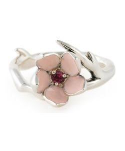 Shaun Leane | Cherry Blossom Rhodolite Ring Womens Size 60