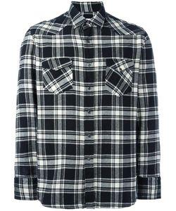 Salvatore Piccolo | Checked Shirt Mens Size 39 Cotton