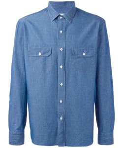 Salvatore Piccolo | Denim Shirt Mens Size 41 Cotton
