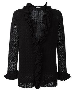 Christian Dior Vintage | Open Macrame Cardigan Womens Size 38