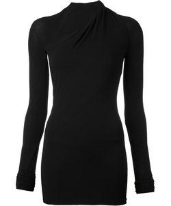 Urban Zen   Asymmetric Neck Blouse Womens Size Small Viscose/Spandex/Elastane