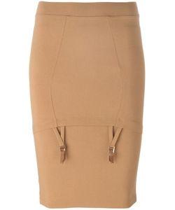Murmur   Mid Waist Piet Skirt Womens Size Medium Nylon/Spandex/Elastane/Rayon