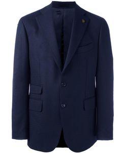 Gabriele Pasini | Two Buttoned Blazer Mens Size 48 Wool/Viscose/Cupro