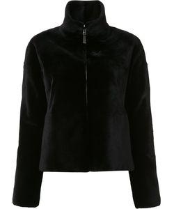J. Mendel   Reversible Sheared Jacket Womens Size 8 Mink Fur/Nylon