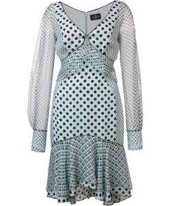 J. Mendel   Split Sleeves Dress Womens Size 8 Silk
