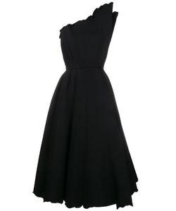 Vika Gazinskaya | Structured One Shoulder Dress Womens Size 36 Cotton/Polyacrylic